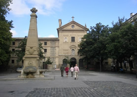 Plaza de Recoletas