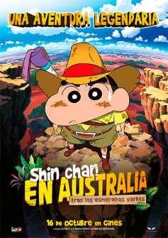 Shin chan en Australia