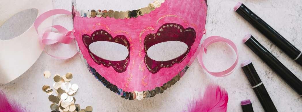 Taller de máscaras de Carnaval