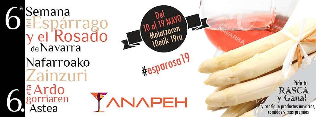 6ª Semana del Espárrago y el Rosado de Navarra 2019