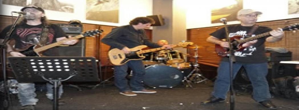 Woodstock Blues Band en concierto