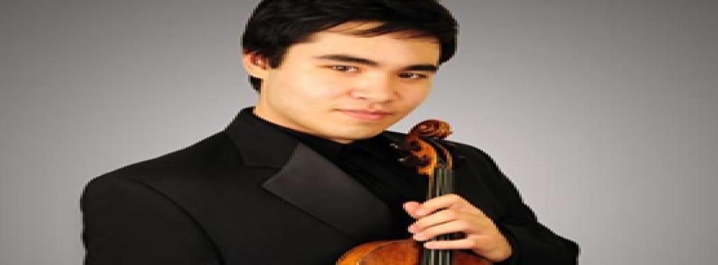 Concierto: Eric Silberger, violín y Kwan-Yi, piano