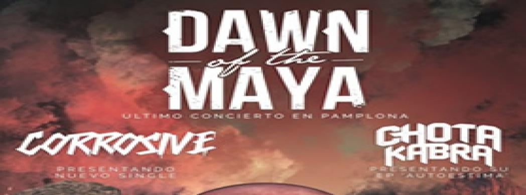 Último concierto de Dawn Of The Maya en Pamplona