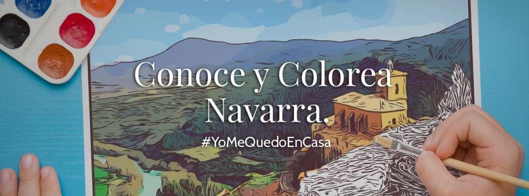 Conoce y Colorea Navarra