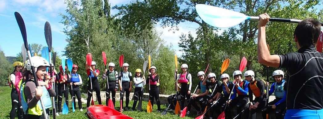 Curso rápido de kayak