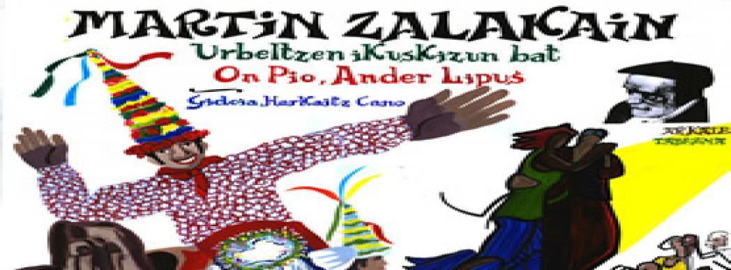 """Espectáculo de danza en euskera: """"Martin Zalakain"""""""