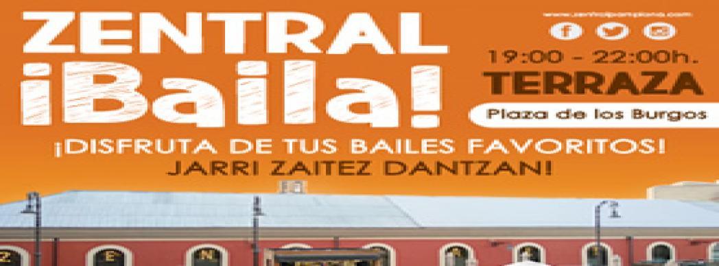 """Terraza Plaza de los Burgos: """"Zentral Baila!"""""""