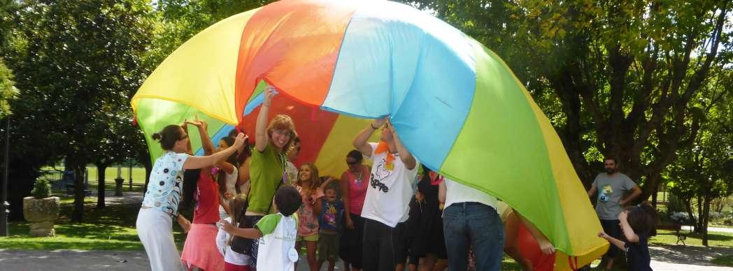 Día del juego en familia en Burlada