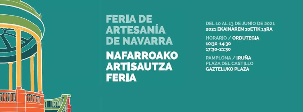 XIV Feria de Artesanía de Navarra 2021