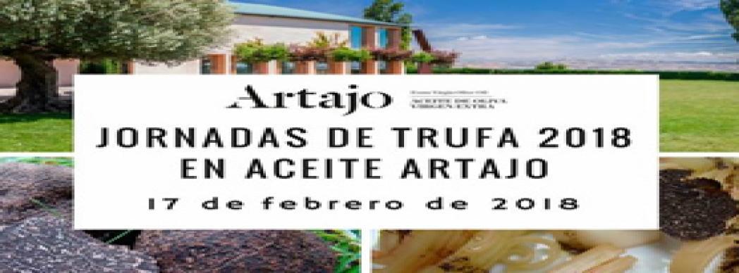 Jornada de la trufa en aceite de Artajo 2018
