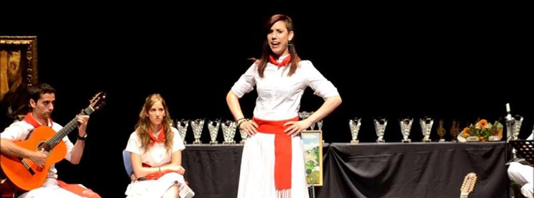 Final del XVII Concurso de Jota Navarra