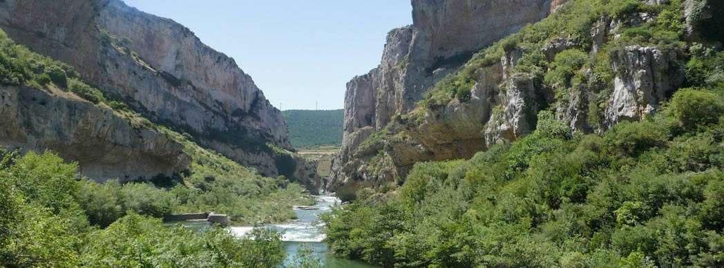 Río Salazar en Navarra