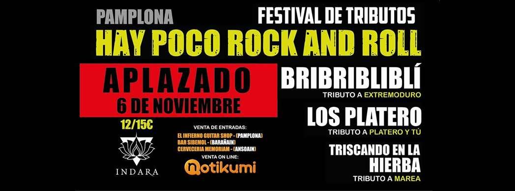 Hay poco Rock and Roll