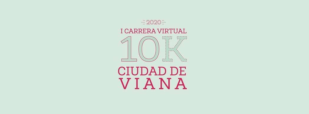 """I Carrera Virtual 10K """"Ciudad de Viana"""""""