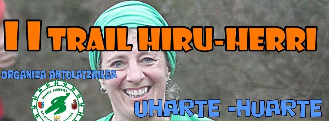 II Trail Hiru-Herri