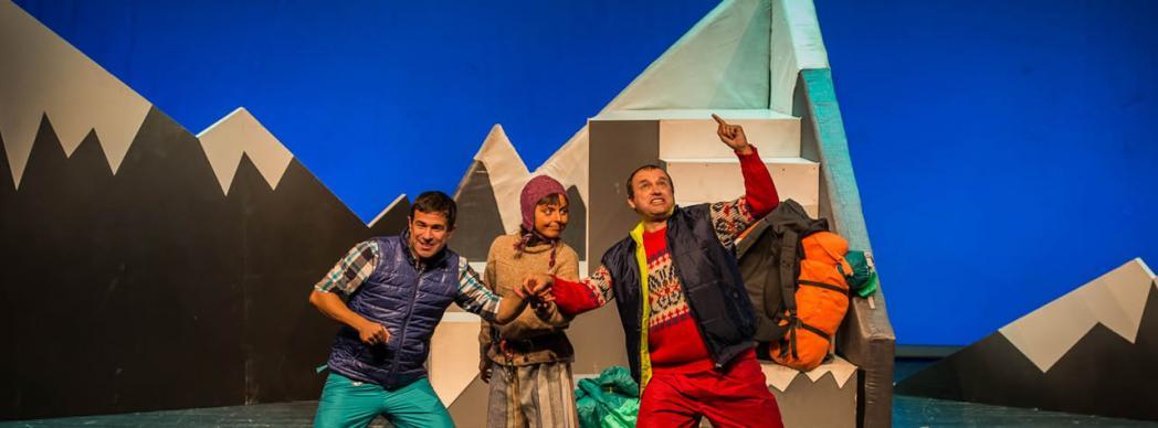 """Teatro familiar: """"Tocando el cielo"""""""