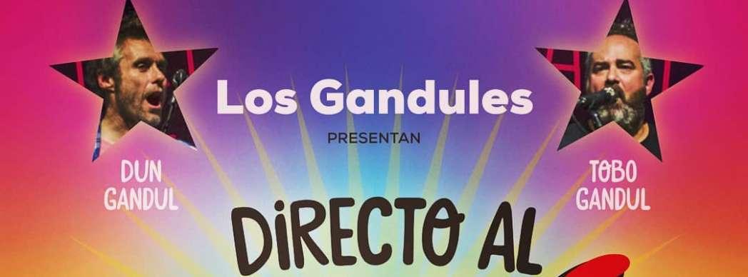 """Los Gandules en concierto: """"Directo al sofá"""""""
