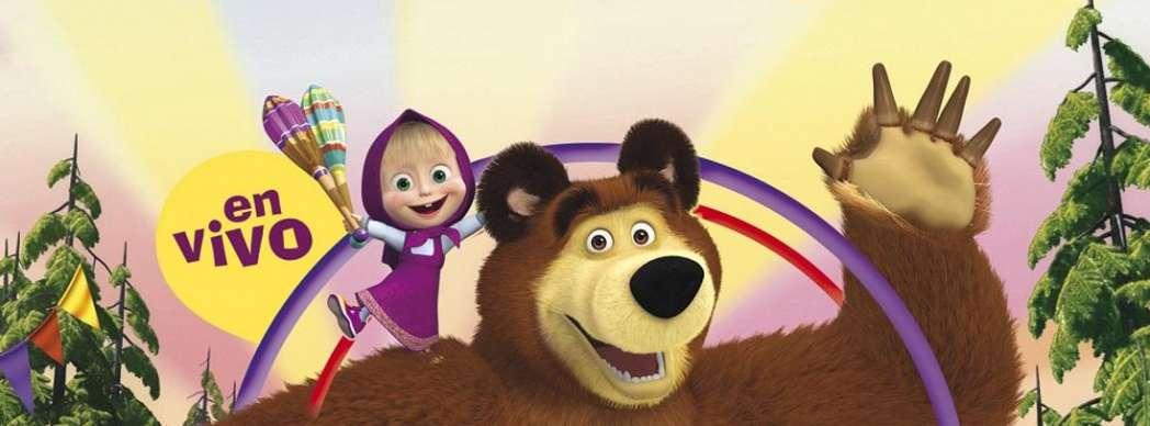 Masha y el Oso. Rescate en el circo