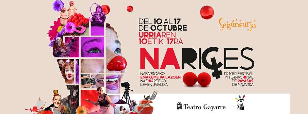 I Festival Internacional de Payasas de Navarra, Narices