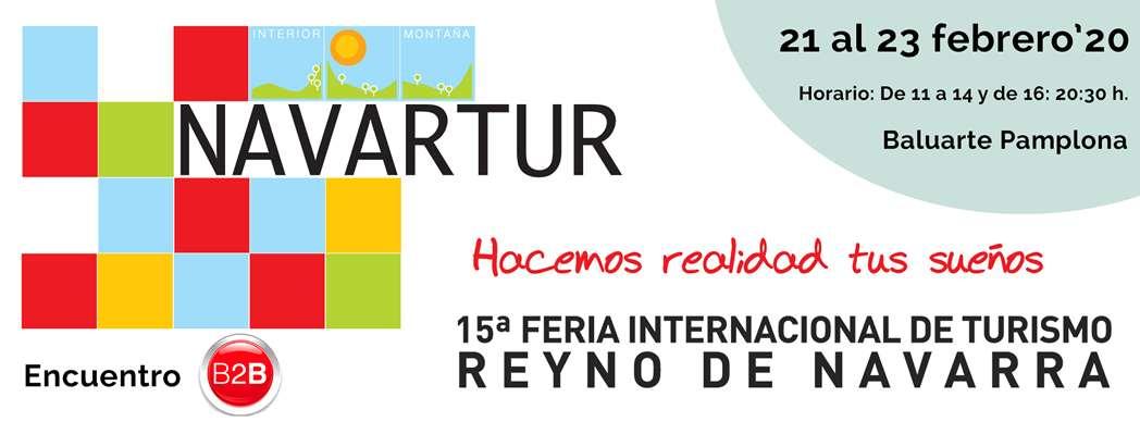 Navartur 2020: 15ª Feria Internacional de Turismo Reyno de Navarra