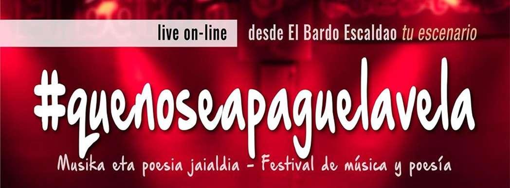 #quenoseapaguelavela