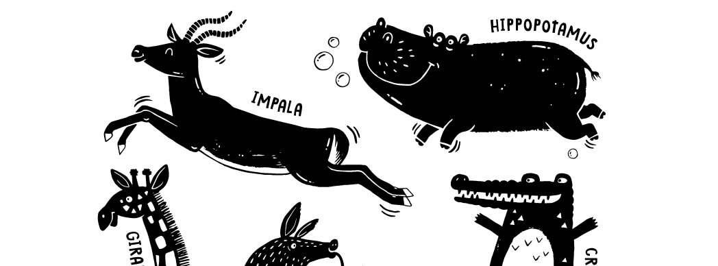 Taller de pintar animales con tapones
