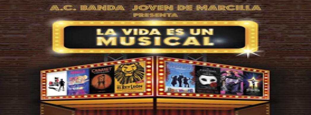 """Banda Joven de Marcilla: """"La vida es un musical"""""""