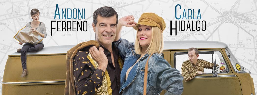 """Andoni Ferreño y Carla Hidalgo: """"Camioneta y manta"""""""