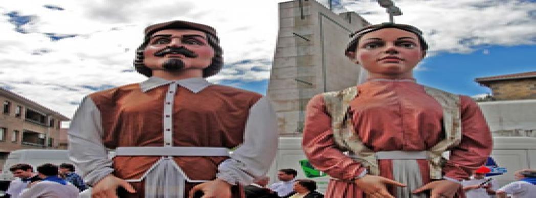Día de la Comparsa de Gigantes y Cabezudos del Valle de Aranguren