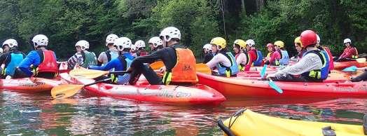 Curso kayak adultos