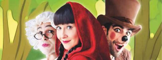 Caperucita, el cuento musical de la capa roja