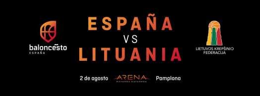 Baloncesto masculino: España-Lituania
