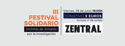III Festival Solidario Víctimas de Amianto
