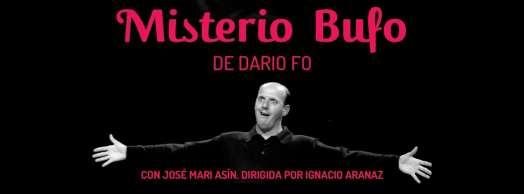 """Teatro con Dario Fo: """"Misterio Bufo"""""""